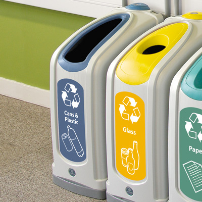 Indoor Recycling Containers