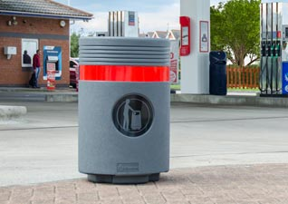 Admiral trash can