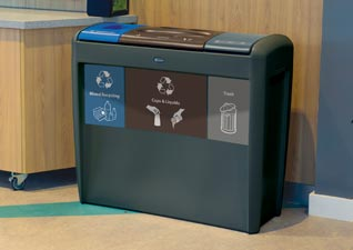 Nexus Transform recycling bin