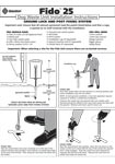 Fido Installation Instructions - Ground Lock and Post Fixing