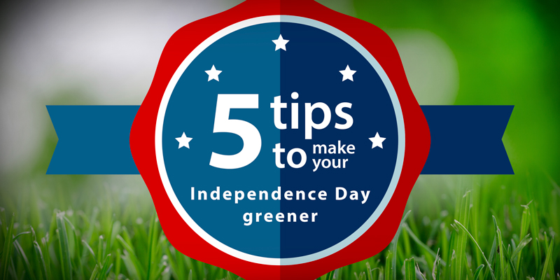 make your Independence Day greener with Glasdon