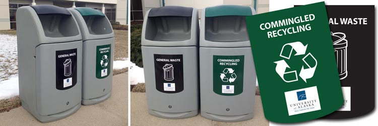 Reducing, Reusing & Recycling at the University of Alaska