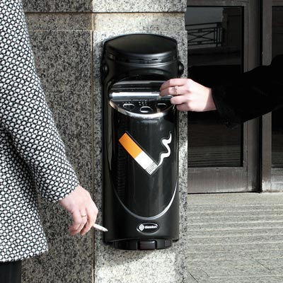 kick start cigarette butt recycling with Ashguard SG