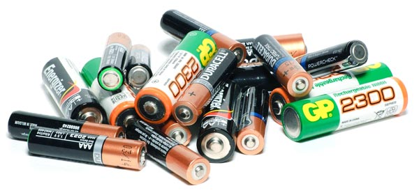 Domestic Batteries E-Waste