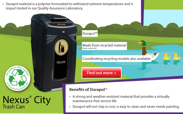 Nexus City Recycling Bin