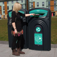 Nexus 96G paper recycling unit in use