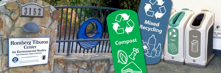 Recycling at San Francisco State University!