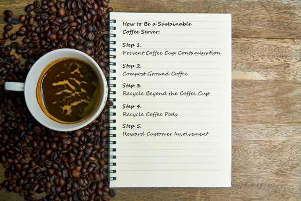5 Steps Coffee Shop Sustainability-Recycling