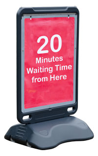 Advocate™ Sidewalk Poster Stand