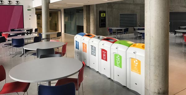 Nexus 26G Recycling Bins