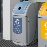 Nexus 36G Can and Plastic Bottle Recycling Bin