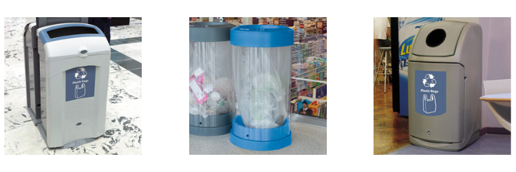 GINC plastic bag and film recycling range