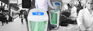 Glasdon Launch Dedicated PPE Bins and Disposal Stations
