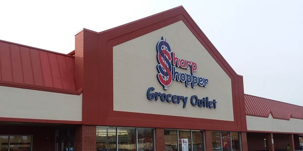 Sharp Shopper Grocery Outlet Store Front