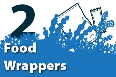 2. Food Wrappers