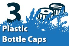 3. Plastic Bottle Caps