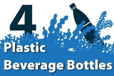 4. Plastic Beverage Bottles