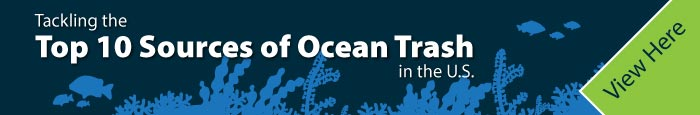 Tackling the Top 10 Sources of Ocean Trash in the U.S. - Infographic