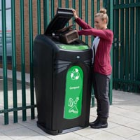 Nexus 36G food waste / compost recycling bin, event recycling