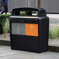 Nexus® Transform City Duo Recycling Bin