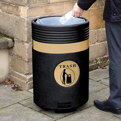 Admiral™ 23 Gallon Trash Can