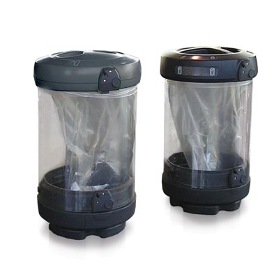 C-Thru™ 48G Recycle Containers- 48 Gallon Recycling Bins