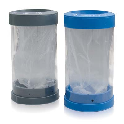 C-Thru™ 50G Recycle Containers- 50 Gallon Recycle Bins