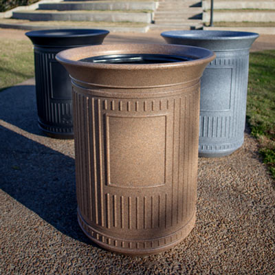 Canyon 50G Outdoor Trash Can Colour Options