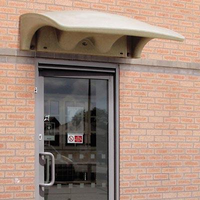 Eclipse Smoking Shelter - door canopy & Eclipse™ Smoking Canopy | Glasdon Inc.