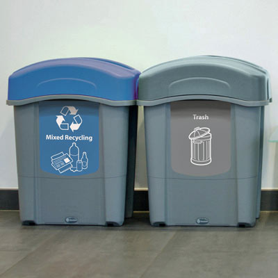 Eco Nexus® 16G Trash & Recycle Combo
