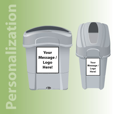 Eco Nexus® 16G Recycling Containers Personalization
