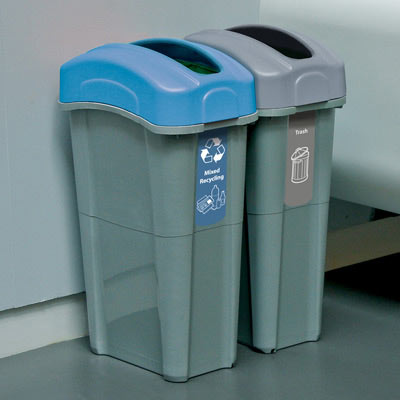 New York City Compliant Commercial Recycling Bins