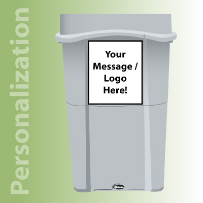 Eco Nexus® 23G Recycling Containers Personalization