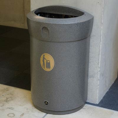 indoor trash cans - Commercial Garbage Cans