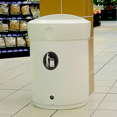 Envoy™ 24G Indoor Trash Can
