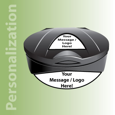 Glasdon Orbit™ Recycling Sack Holders Personalization