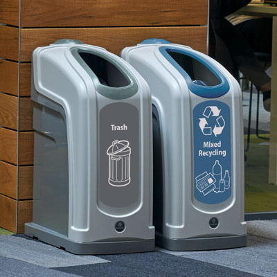 Nexus® 13G Trash and Recycle Combo