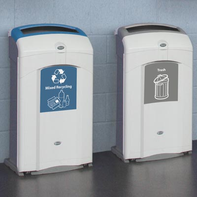 Nexus® 26G Trash and Recycling Combo