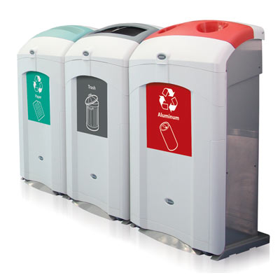 Nexus® 26G Recycle Containers - 26 Gallon Recycling Bins