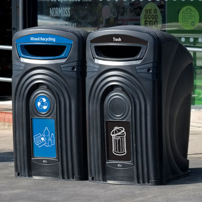 Nexus® 96G Trash and Recycling Combo