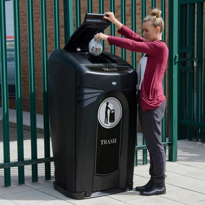 Nexus® City 64G 64 Gallon Trash Can