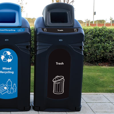 Nexus® City 64G Trash Recycling Bin