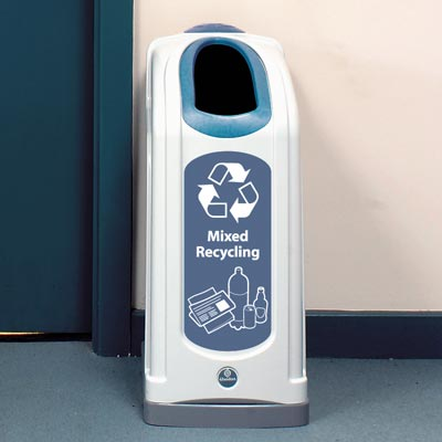 Nexus® 13G Mixed Recyclables Recycling Bin