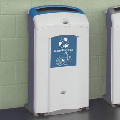Nexus® 26G Mixed Recyclables Recycling Bin