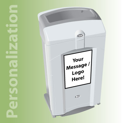 Nexus® 26G Recycling Bins Personalization