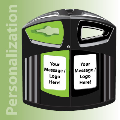 Nexus® 52G Recycling Station Personalization