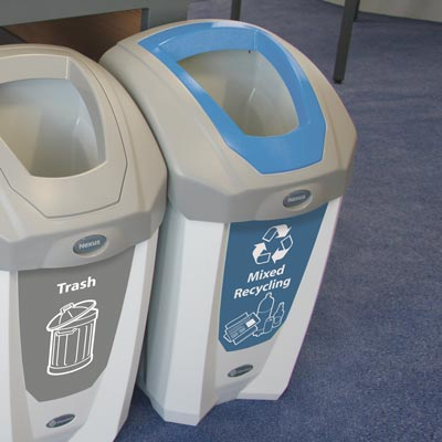 Nexus® 8G Mixed Recyclables Recycling Container