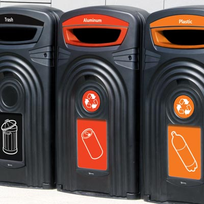 Nexus® 96G Can Recycling Container