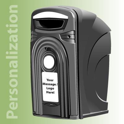 Nexus® 96G Recycling Containers Personalization