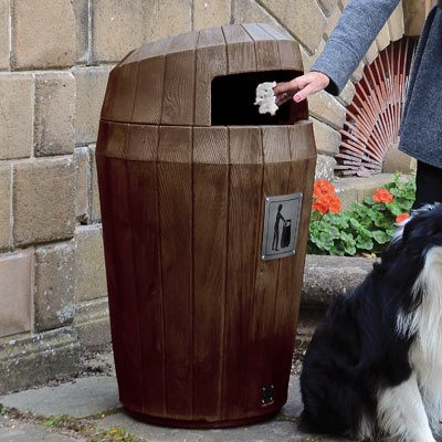 Sherwood™ Trash Can with Hood Top